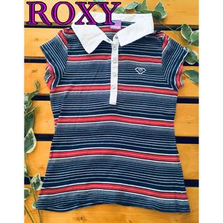 ロキシー(Roxy)の❤️ROXY☆半袖ポロシャツ Tシャツ 140cm☆ロキシー❤️(Tシャツ/カットソー)