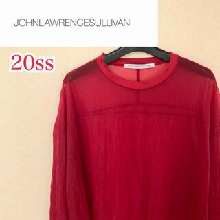 ジョンローレンスサリバン(JOHN LAWRENCE SULLIVAN)のJohn Lawrence Sullivan シースルーカットソー(Tシャツ/カットソー(七分/長袖))