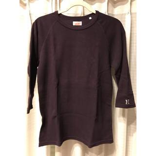 ハリウッドランチマーケット(HOLLYWOOD RANCH MARKET)のハリウッドランチマーケット 7分 H刺繍 Tシャツ 3 / L ダークパープル(Tシャツ/カットソー(七分/長袖))