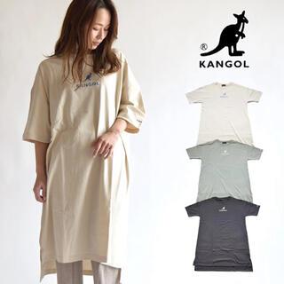 カンゴール(KANGOL)のカンゴール ビッグTシャツワンピース (ロングワンピース/マキシワンピース)