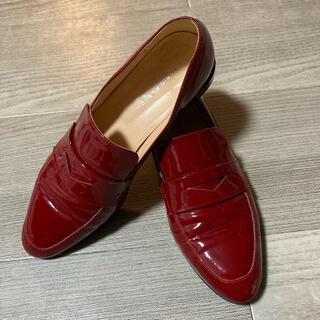 ファビオルスコーニ(FABIO RUSCONI)のFABIO RUSCONI エナメルローファー(ローファー/革靴)