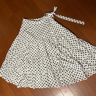 インデックス(INDEX)のindexのティアードのスカート(ひざ丈スカート)