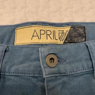 エイプリルセブンティセブン(April77)のAPRIL77 スキニーデニムパンツ(デニム/ジーンズ)