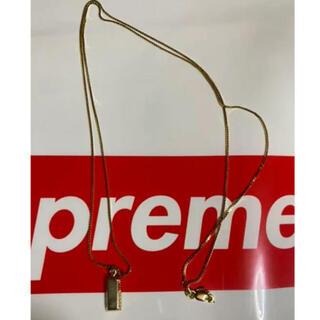 シュプリーム(Supreme)のsupreme 金塊 14k ネックレス(ネックレス)