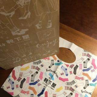 クツシタヤ(靴下屋)の【新品未開封】靴下屋 Tabio サイズ22-24 ショッパー&紙袋付き(靴下/タイツ)