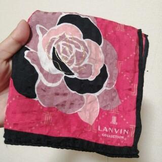 ランバン(LANVIN)のLANVIN*ランバン*未使用*ハンカチ*6月までの出品(ハンカチ)