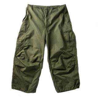 コモリ(COMOLI)の【希少】50s US ARMY CARGO PANTS M-51 M-L 美品(その他)
