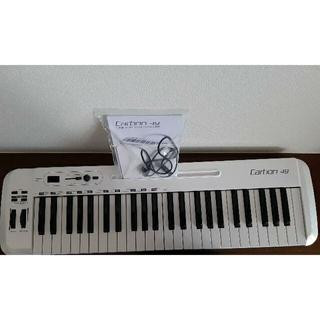 美品 SAMSON / Carbon 49 MIDIキーボード 送料無料(MIDIコントローラー)