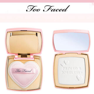 Too Faced - too faced プライムド & ポアレス + フェイス パウダー