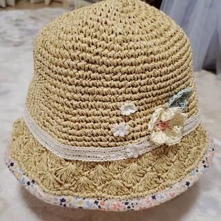 スーリー(Souris)のsouris  スーリー  麦わら帽子  52cm(帽子)