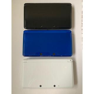 ニンテンドー3DS(ニンテンドー3DS)の3DS 3台セット ソフト多数(携帯用ゲーム機本体)