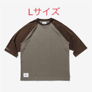 ダブルタップス(W)taps)の21SS 新品Lサイズ WTAPS IAN RAGLAN ブラウン(Tシャツ/カットソー(七分/長袖))