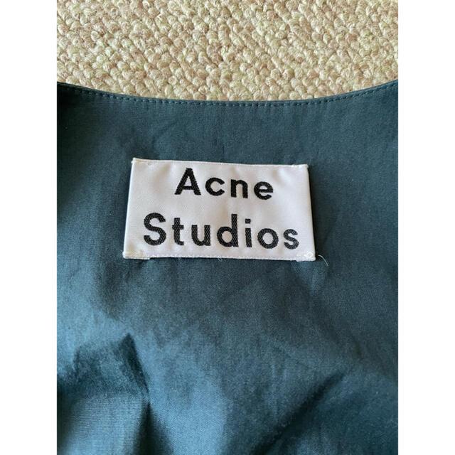 ACNE(アクネ)のACNE STUDIOS アクネストゥディオズ ノースリーブ ベルト ワンピース レディースのワンピース(ロングワンピース/マキシワンピース)の商品写真