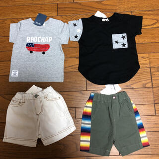 ブランシェス(Branshes)の男の子 まとめ売り 80(Tシャツ)