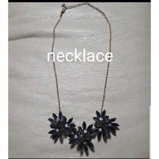 ブルーム(BLOOM)のフラワーネックレス 大ぶりお花モチーフ bloom ブルーム 3D立体ネックレス(ネックレス)
