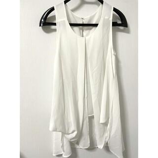 ムルーア(MURUA)のムルーア シフォン素材ノースリーブトップスフリーサイズ(シャツ/ブラウス(半袖/袖なし))