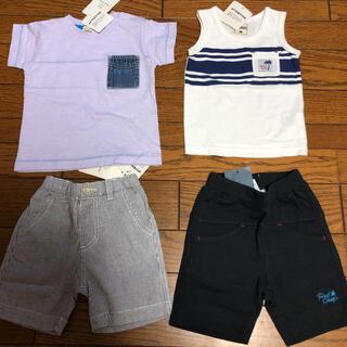 ブランシェス(Branshes)のまとめ売り 男の子 80㎝(Tシャツ)