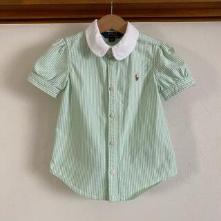 ラルフローレン(Ralph Lauren)のラルフローレン 半袖シャツ 110 半袖ブラウス パフスリーブ(ブラウス)
