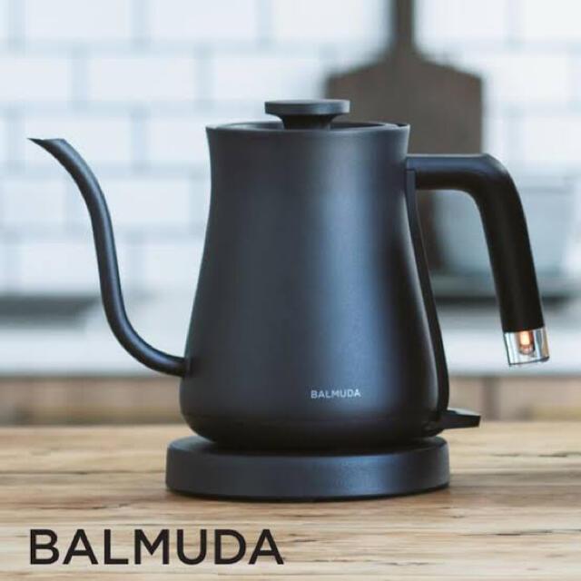 BALMUDA(バルミューダ)のバルミューダ balmuda K02A-BK ポット 電気ケトル 新品未使用 スマホ/家電/カメラの生活家電(電気ケトル)の商品写真