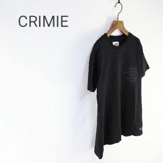 クライミー(CRIMIE)の◇CRIMIE ロゴプリント Tシャツ(Tシャツ/カットソー(半袖/袖なし))