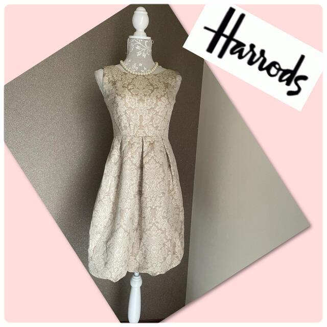 Harrods(ハロッズ)の♡ハロッズ ワンピース ドレス♡ レディースのワンピース(ひざ丈ワンピース)の商品写真