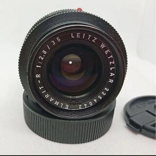 ライカ(LEICA)のLeica elmarit-r 35mm レンズ(レンズ(単焦点))