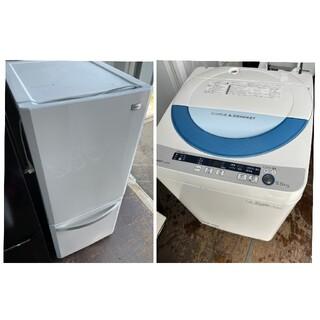 SHARP - ハイアール2ドア冷蔵庫138L&SHARP5.5キロ洗濯機 💍2015年製💍