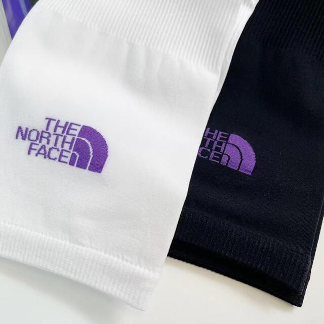THE NORTH FACE(ザノースフェイス)の【新品】ノースフェイス アームカバー UVカット日焼け防止ブラック1セット メンズのファッション小物(その他)の商品写真