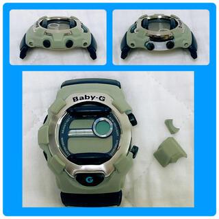 ベビージー(Baby-G)の【変色・外枠欠けあり】カシオCASIO BabyG ベビーG 電池切れ 本体のみ(腕時計)