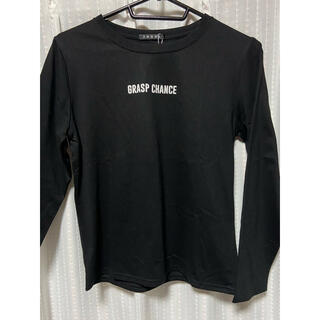 イング(INGNI)の黒Tシャツ(長袖)(Tシャツ(長袖/七分))