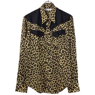 ジョンローレンスサリバン(JOHN LAWRENCE SULLIVAN)の破格 JOHNLAWRENCESULLIVAN 19aw レオパードシャツ(シャツ)