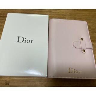 ディオール(Dior)のDior  手帳  新品 未使用(ノベルティグッズ)
