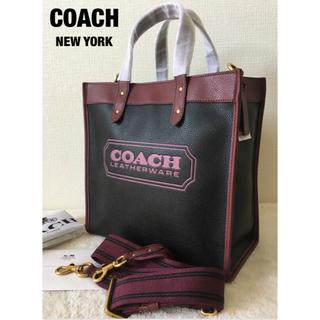 コーチ(COACH)の人気フィールド トート 30 カラーブロック ウィズ コーチ バッジ(トートバッグ)