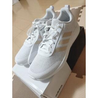アディダス(adidas)の新品・未使用 アディダス ランニングシューズ ゴールド/白25cm(シューズ)