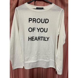 イング(INGNI)のTシャツ(長袖)(Tシャツ(長袖/七分))