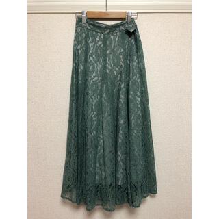 アンドクチュール(And Couture)のAnd Couture レーススカート(ひざ丈スカート)