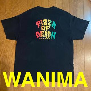 ワニマ(WANIMA)の☆希少☆ XL ピザロゴ WANIMA Tシャツ pizza of death(Tシャツ/カットソー(半袖/袖なし))