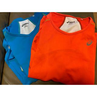 asics - アシックス トレーニングウェア ランニングウェア tシャツ レディース長袖ウェア