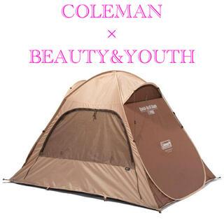 ビューティアンドユースユナイテッドアローズ(BEAUTY&YOUTH UNITED ARROWS)の【新品】COLEMAN × BEAUTY&YOUTH ポップアップテント(テント/タープ)