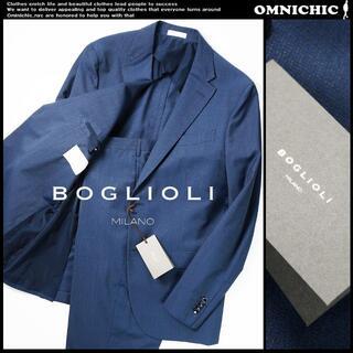 ボリオリ(BOGLIOLI)のBOGLIOLIバージンウールネイビー2Bスーツ52ジャケットパンツ/ボリオリ(セットアップ)