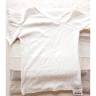 アナップ(ANAP)のさぁやさん専用ANAP 半袖カットソー 春夏 新品未使用(カットソー(半袖/袖なし))