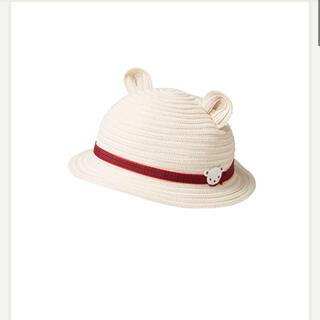 ☆新品☆familiar ベビー麦わら帽子