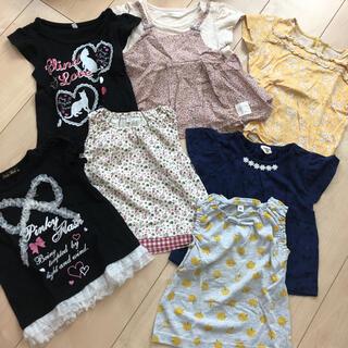 キムラタン(キムラタン)の女の子80㎝まとめ売り(Tシャツ)