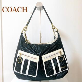 コーチ(COACH)の人気 COACH コーチ ショルダー バッグ ナイロン ブラック 15872(ショルダーバッグ)
