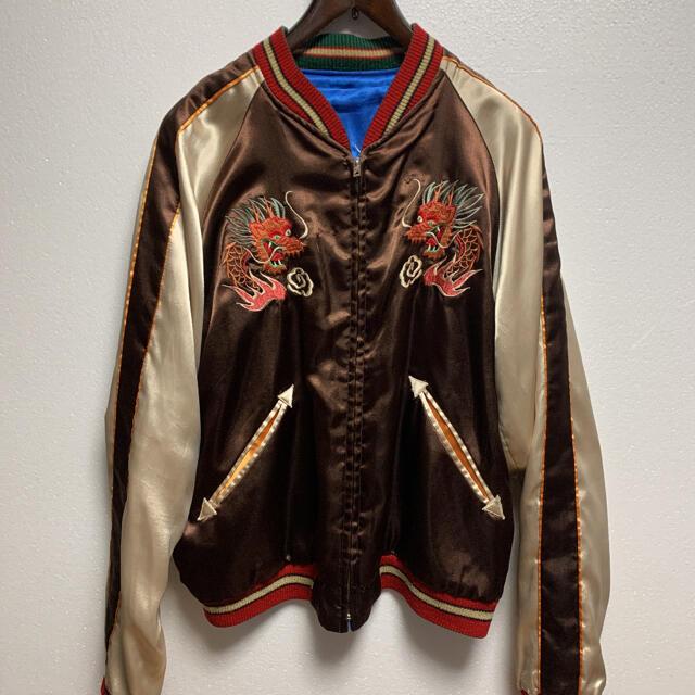 東洋エンタープライズ(トウヨウエンタープライズ)のテーラー東洋  リバーシブル スカジャン  龍 鷹 人気のモデル メンズのジャケット/アウター(スカジャン)の商品写真