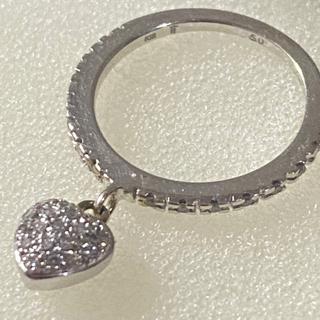 フォリフォリ(Folli Follie)のFolli Folli     フォリフォリ K18リング ダイヤ ハート 人気(リング(指輪))