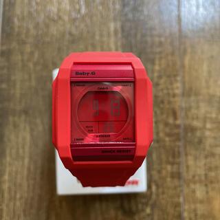 カシオ(CASIO)のCASIO Baby-G RED レディース 腕時計(腕時計)