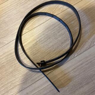 ヤエカ(YAECA)の革ベルト 120センチ 幅13ミリ セレクトショップnook store(ベルト)