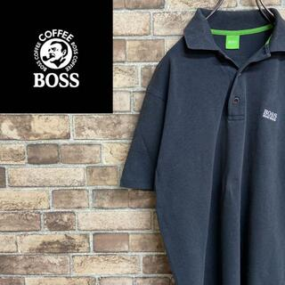 カーハート(carhartt)の●ボス● BOSS ポロシャツ 刺繍ロゴ 半袖カットソー(ポロシャツ)