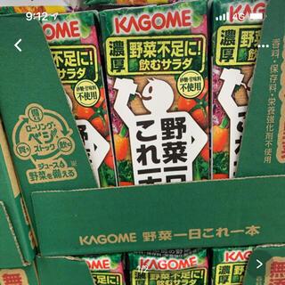 カゴメ(KAGOME)の【ケース販売】カゴメ 野菜一日 これ一本 200ml×24本(ソフトドリンク)